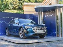 Mobilità sostenibile: auto elettriche Audi e-tron per le perle dell'arco alpino